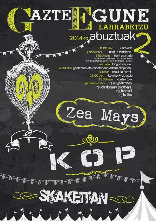 GAZTE EGUNE 2014